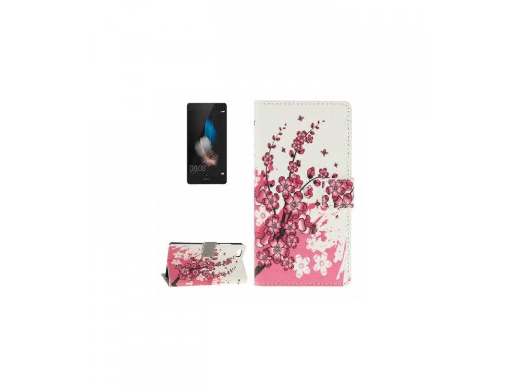 Puzdro Huawei P8 lite La Fleur