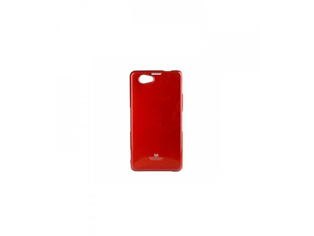 Puzdro Sony Xperia Z1 compact Jelly Case červené
