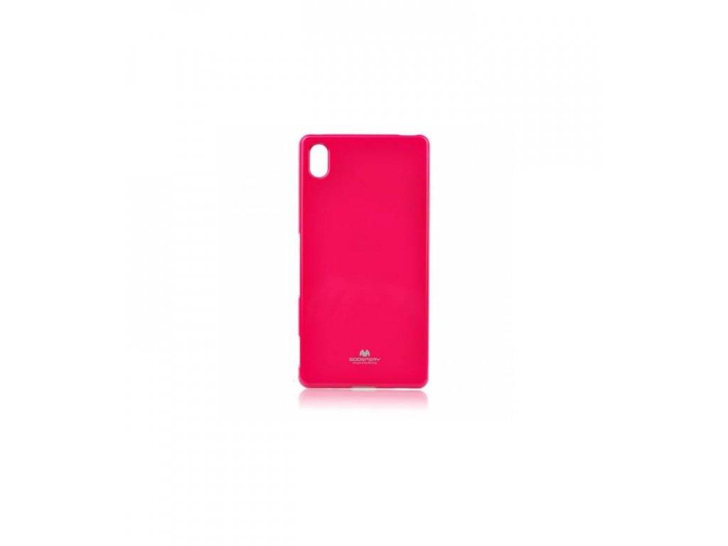 Puzdro Sony Xperia Z5 Jelly Case hot pink