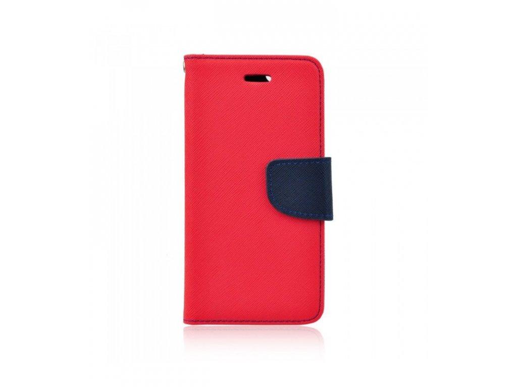Puzdro Xiaomi miA2 Lite / Redmi 6 Pro Fancy Diary červená farba