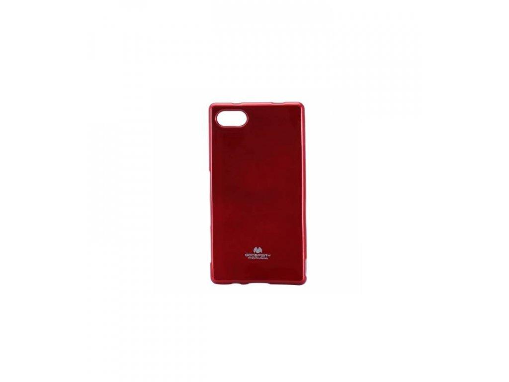 Puzdro Sony Xperia Z5 compact Jelly Case červené