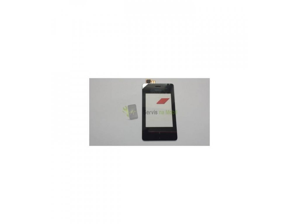 Dotyková plocha Nokia Asha 500 čierna farba