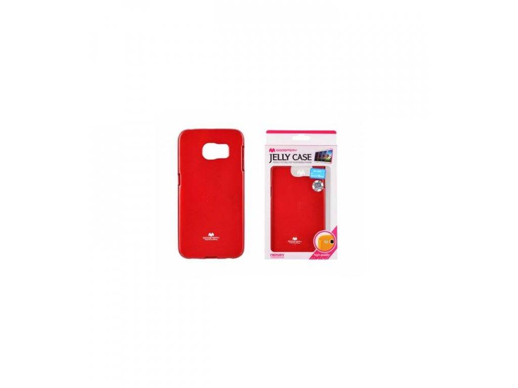 Púzdro Samsung Galaxy S6 edge Jelly Case červené