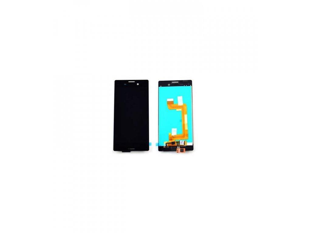 LCD displej a dotyková plocha Sony Xperia M4 Aqua čierna farba