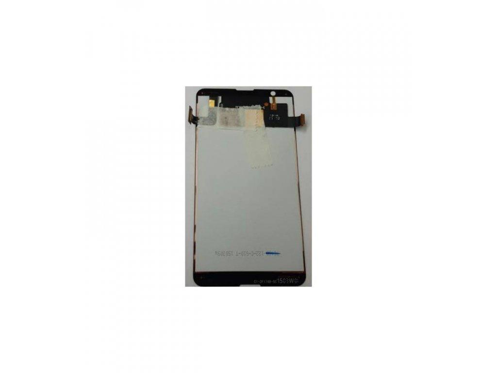LCD displej a dotyková plocha Sony Xperia E4G čierna farba