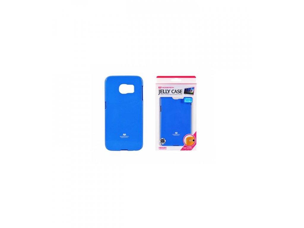 Púzdro Samsung Galaxy S6 edge, jelly case modré