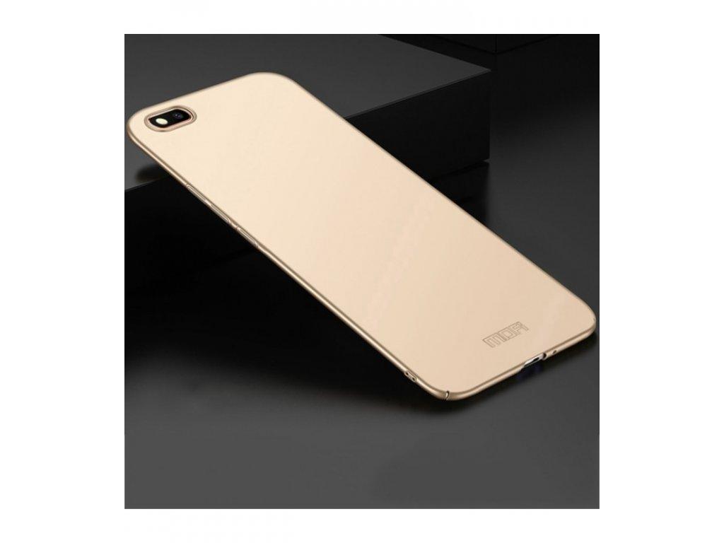 Puzdro Huawei Y5 2018 plastové MOFI zlatá farba