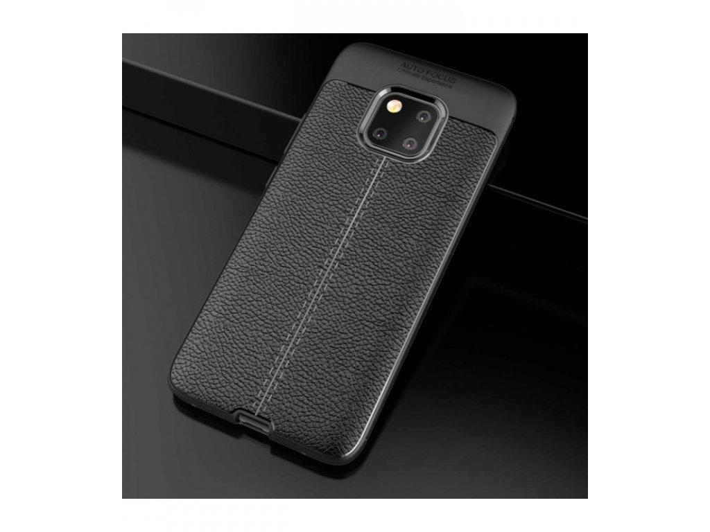Puzdro Huawei Mate 20 Pro Litchi Shockproof čierne
