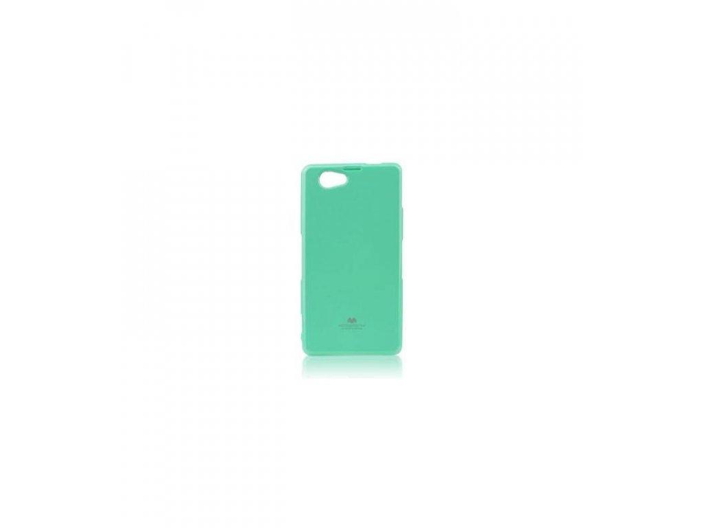 Puzdro Sony Xperia Z1 compact Jelly Case mentolové