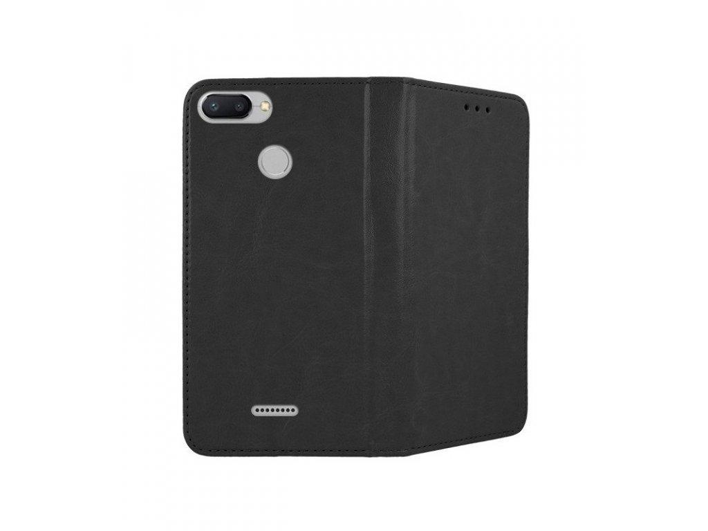 Puzdro knižkové Xiaomi Redmi 6 / 6A Fancy Diary čierna farba