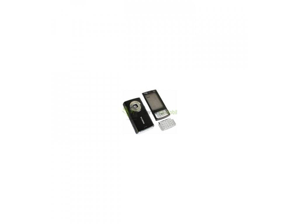 Komplet kryt Nokia N95 čierna farba