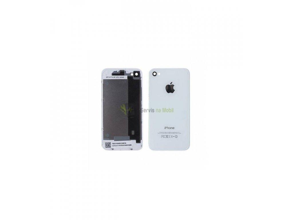 Zadný kryt iPhone 4 biela farba