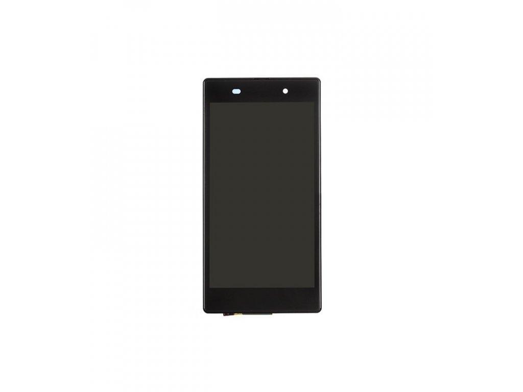 LCD displej a dotyková plocha s rámom Sony Xperia Z1 C6903 čierny