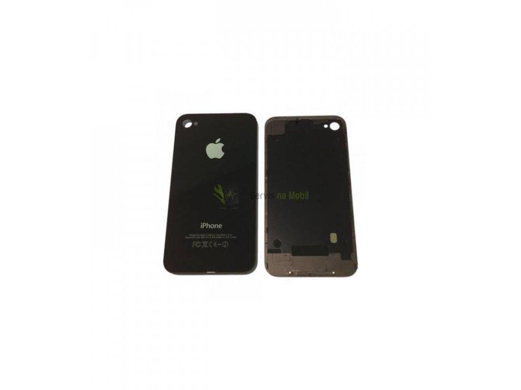 Zadný kryt iPhone 4 čierna farba