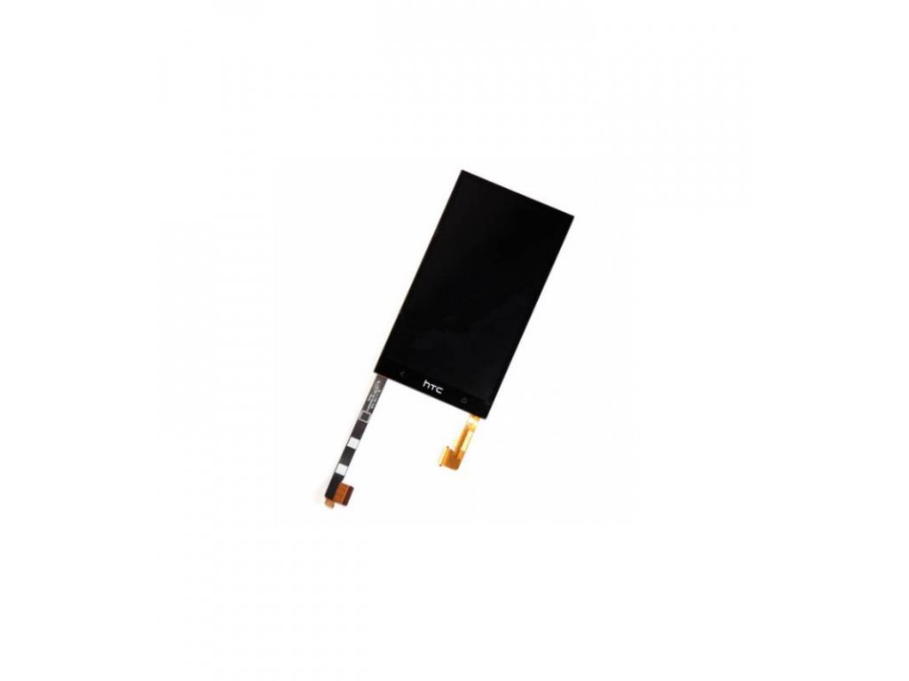 LCD displej a dotyková plocha HTC ONE M7 čierna farba