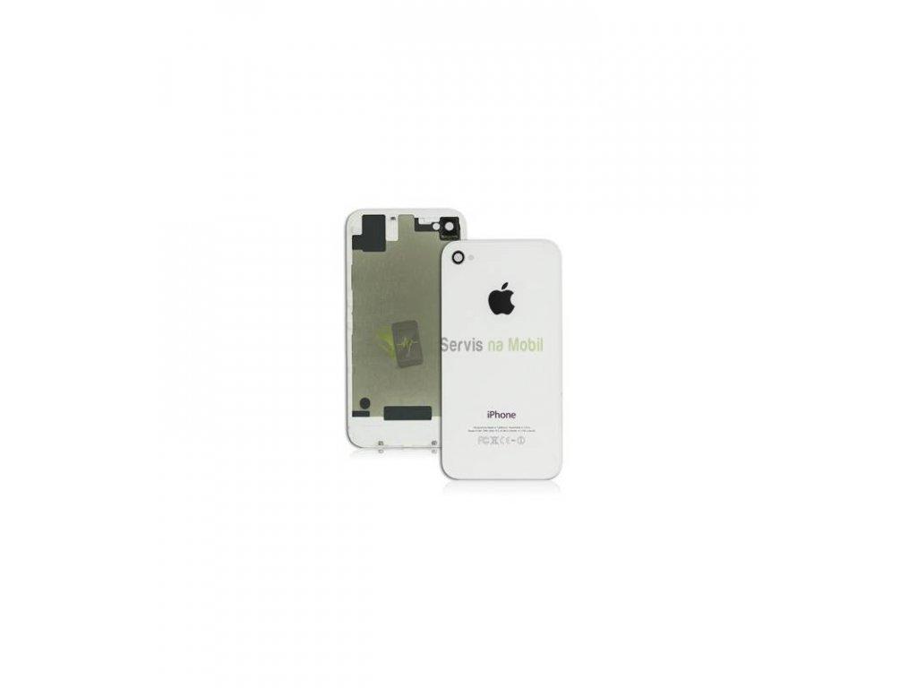 Zadný kryt iPhone 4S biela farba