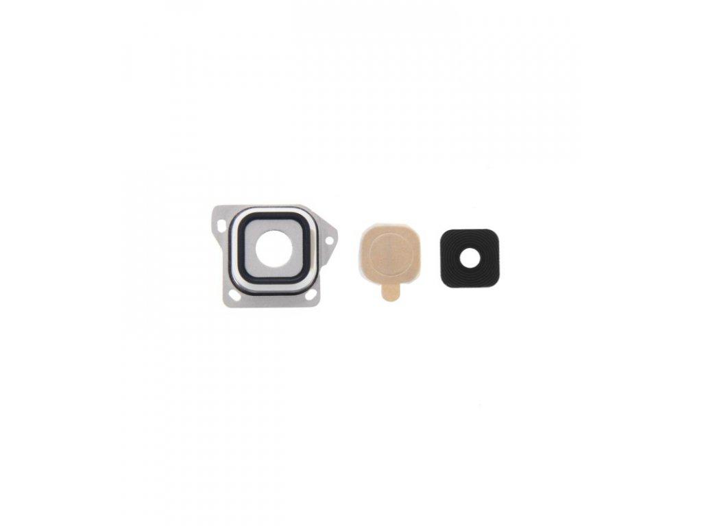 Sklíčko fotoaparátu Samsung Galaxy A3 A300 čierna farba