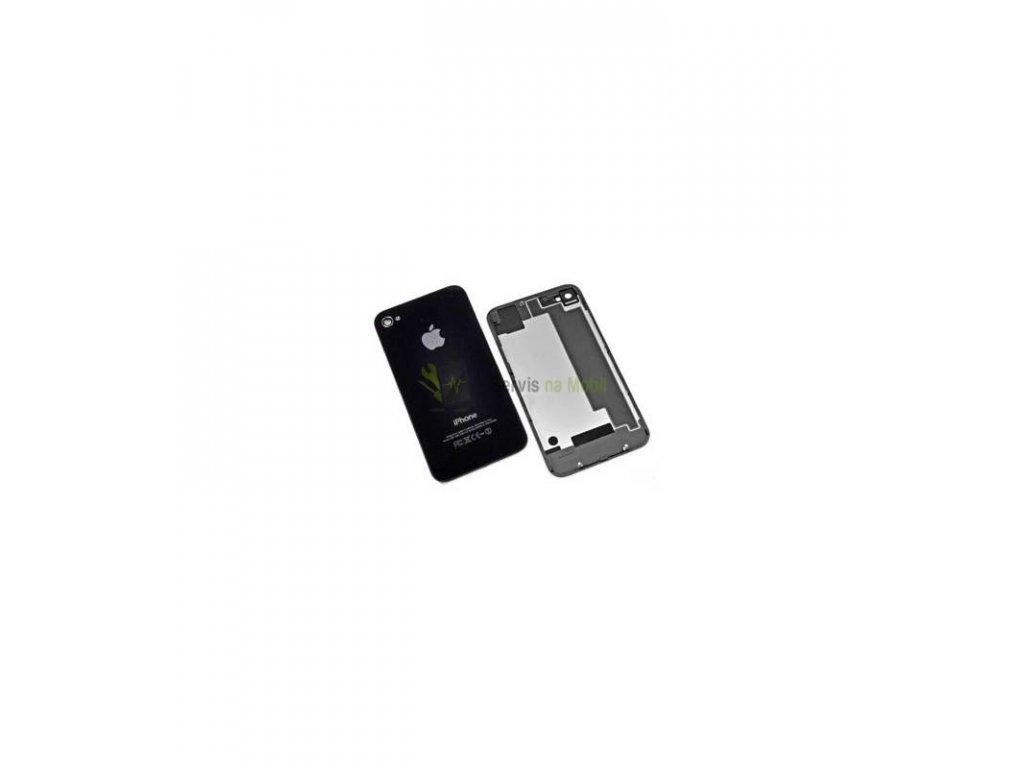 Zadný kryt iPhone 4S čierna farba