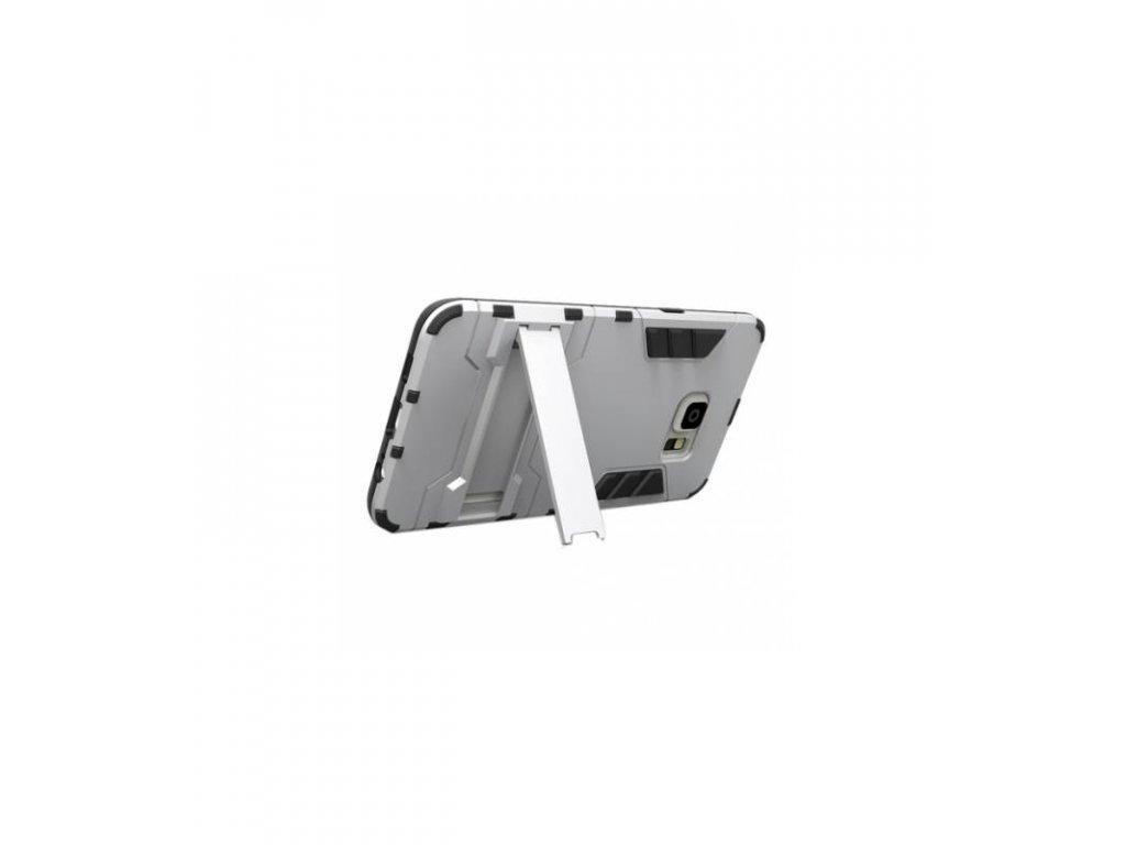 Ochranné puzdro Armor Samsung Galaxy S6 Edge Plus strieborné