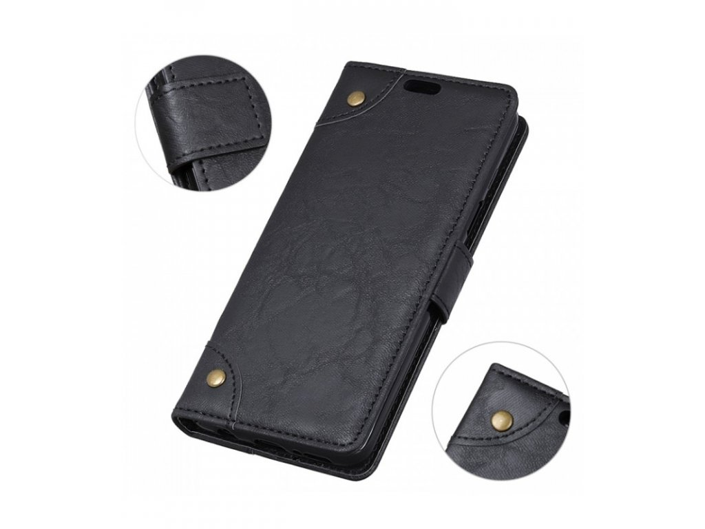 Knižkové puzdro LG K11 ( K10 2018 ) čierna farba