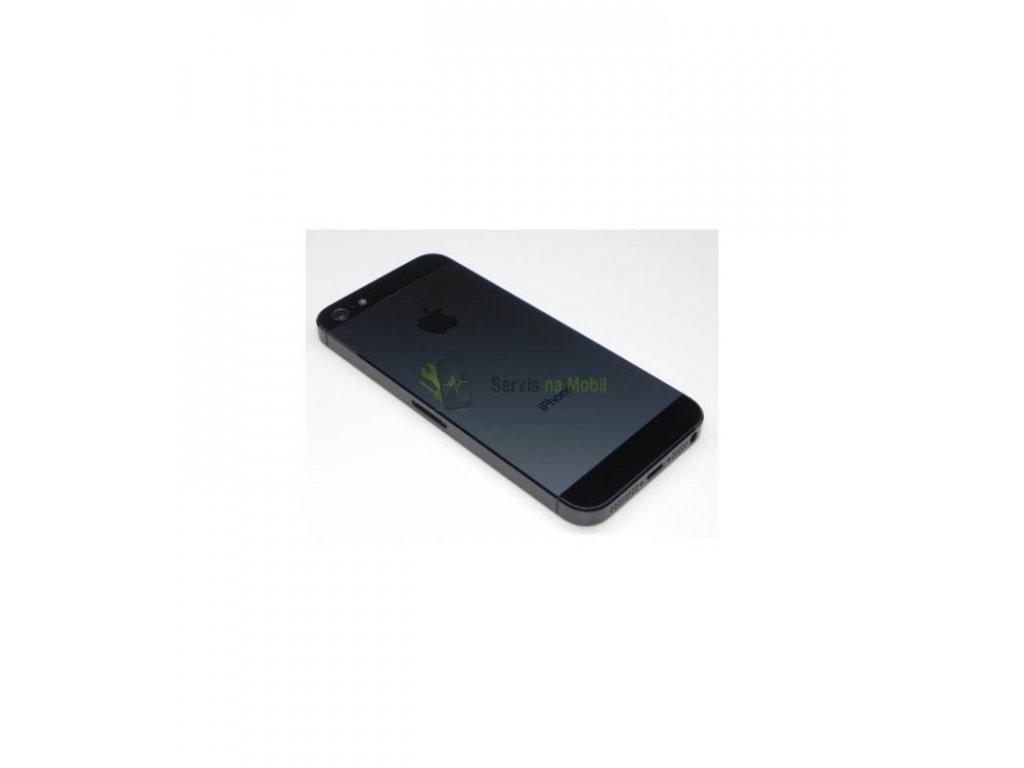 Zadný kryt iPhone 5 čierna farba