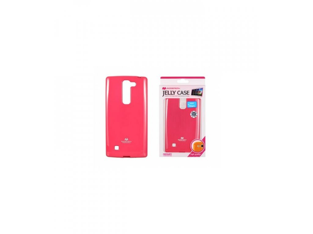 Púzdro LG G4c Jelly case ružové