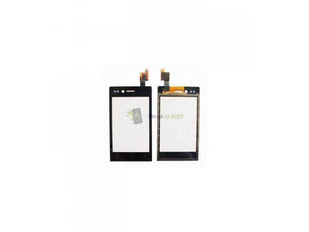 Dotyková plocha Sony Xperia Miro ST23 čierna farba