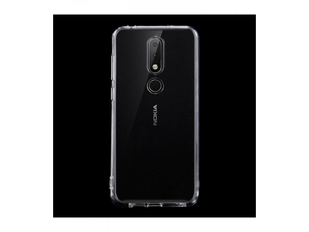 Puzdro Nokia 6.1 Plus / X6 2018 ultra tenké priesvitné