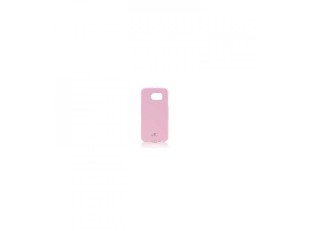 Silikonové púzdro Mercury Jelly na Samsung Galaxy S6 edge ružové