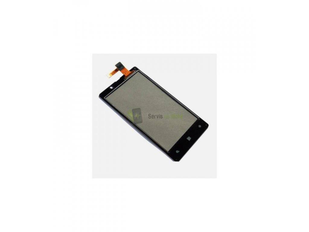 Dotyková plocha Nokia Lumia 820 čierna farba