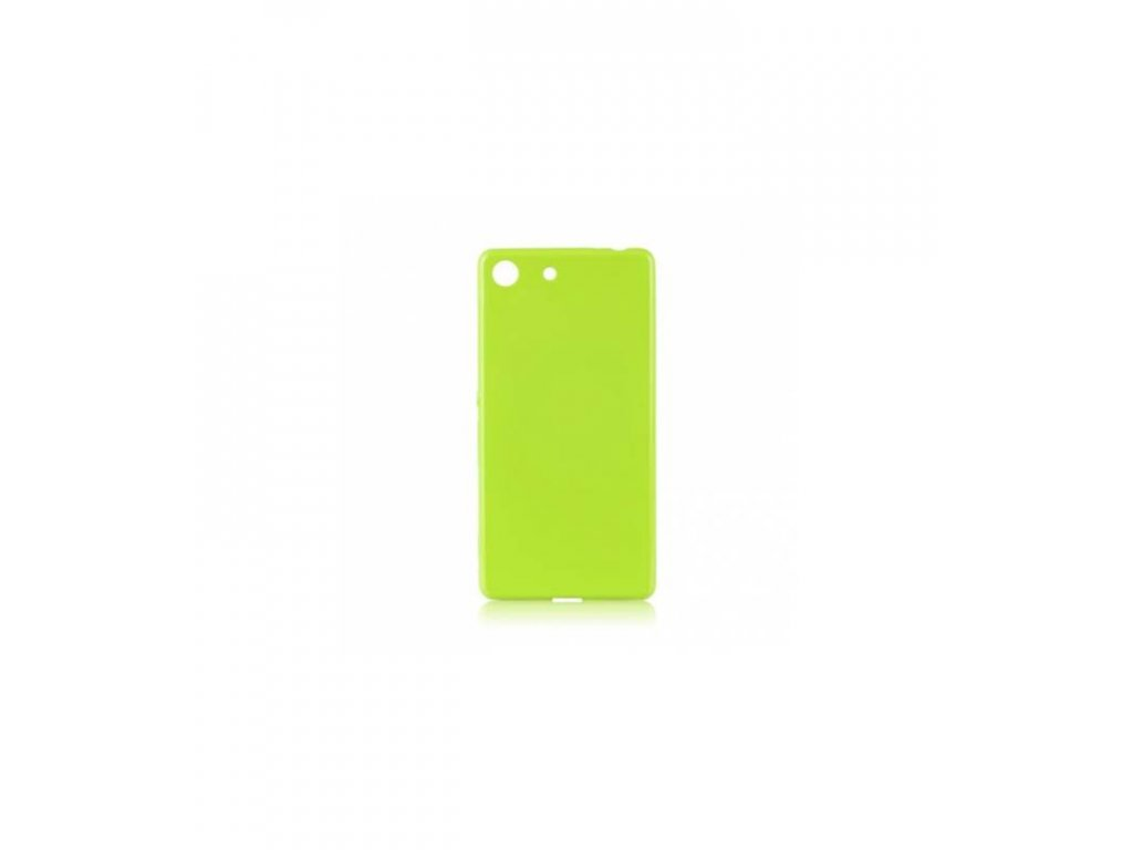 Puzdro Sony Xperia Z3 compact Jelly Case limetkové