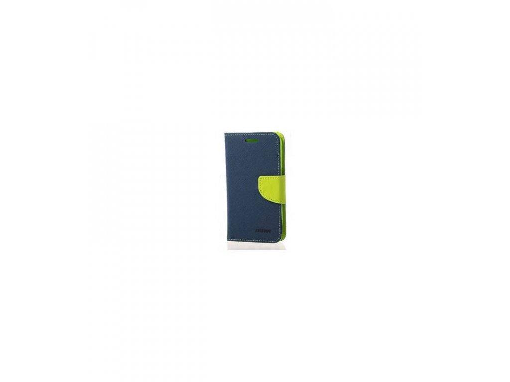 Púzdro Sony Xperia M5 Fancy Diary modrá farba