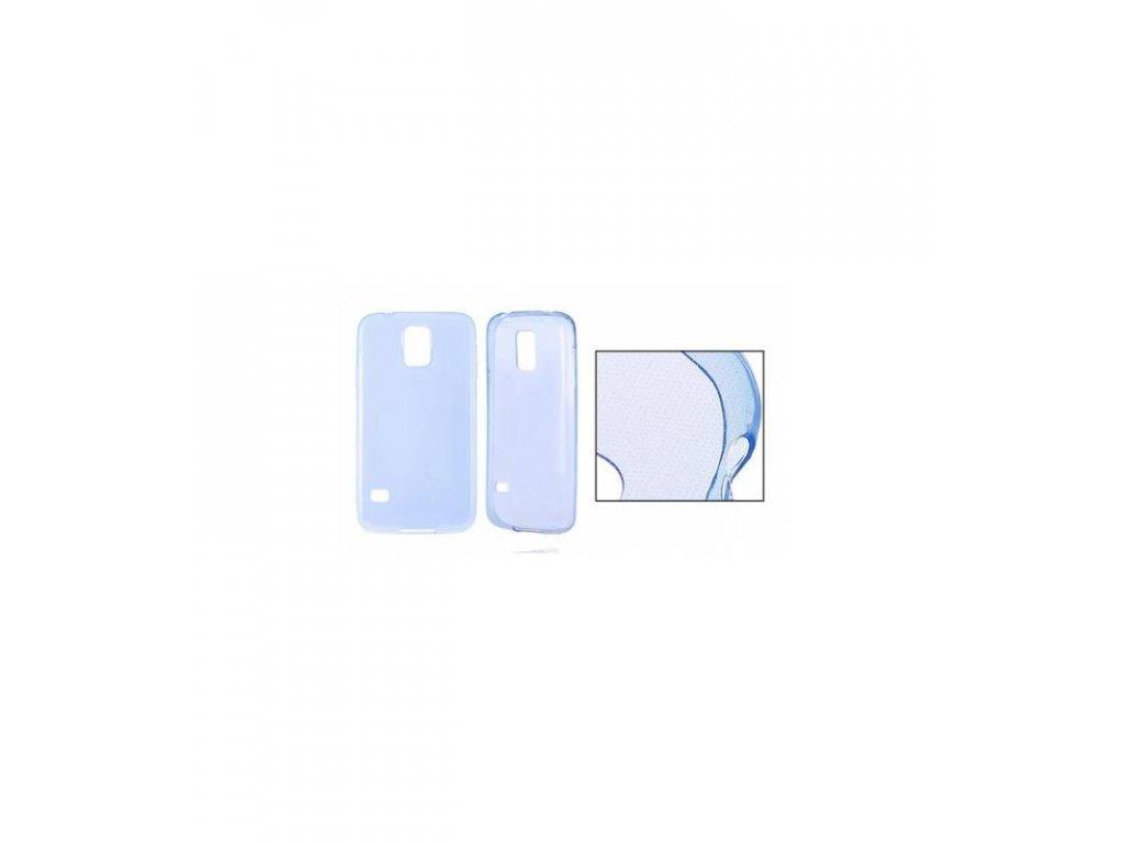 Silikonové púzdro na Samsung Galaxy Grand Prime modré priesvitné