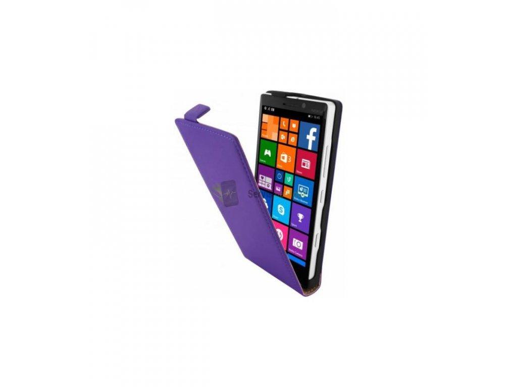 Knižkové púzdro na Nokia Lumia 930 fialové
