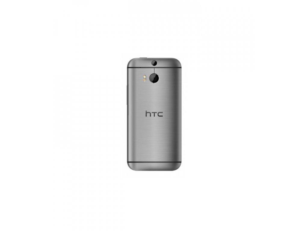Zadný kryt HTC One M8 - strieborná farba
