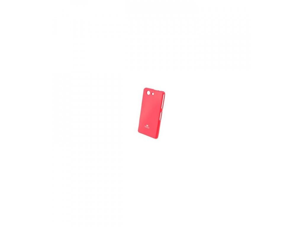 Puzdro Sony Xperia Z3 compact Jelly Case hot pink