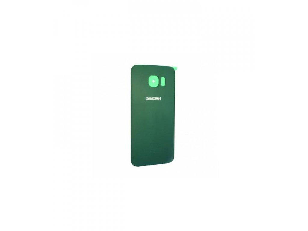 Zadný kryt Samsung Galaxy S6 Edge G925 - zelená farba