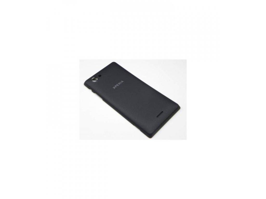 Zadný kryt vhodny pre Sony Xperia J ST26i OEM čierna farba