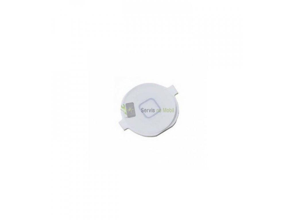 Tlačítko Home button iPhone 4S biele