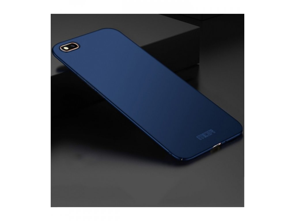 Puzdro Huawei Y5 2018 plastové MOFI modrá farba