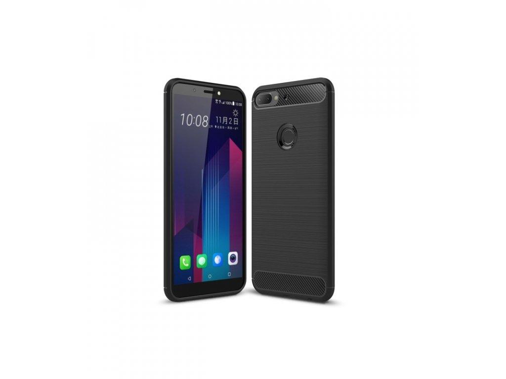 Puzdro HTC Desire 12 plus karbónové čierne