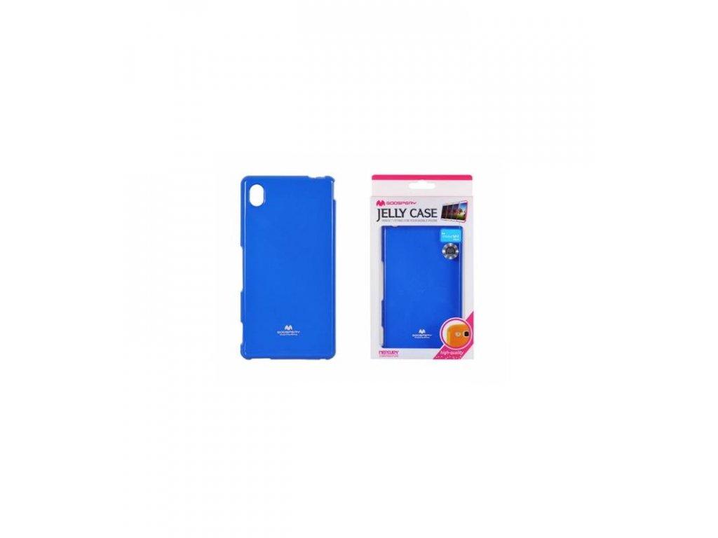 Púzdro Sony Xperia M4 Aqua, Jelly Case modré