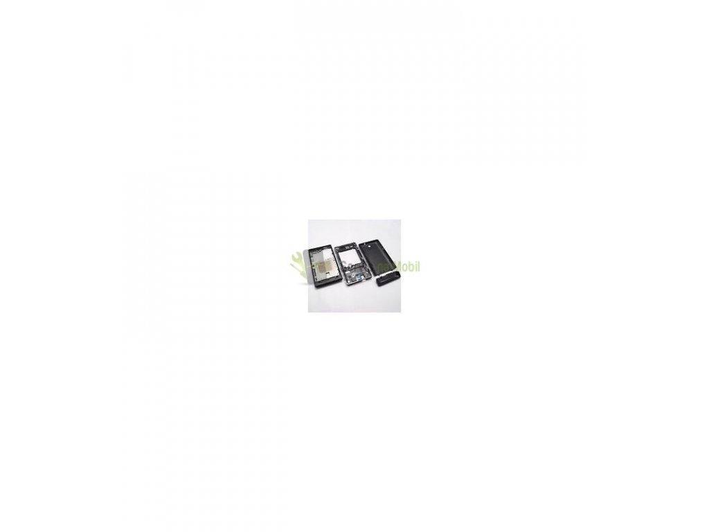 Komplet kryt Sony Xperia E C1505 čierna farba