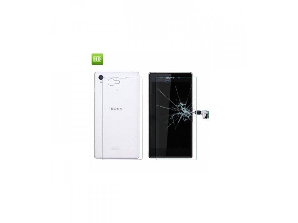 Ochranné tvrdené sklo Sony Xperia Z1 Compact predne a zadné
