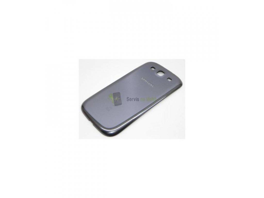Zadný kryt Samsung Galaxy S3 i9300 sivá farba