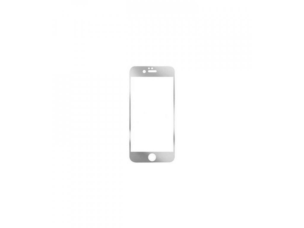 Ochranné tvrdené sklo iPhone 6 plus zrkadlové strieborná farba