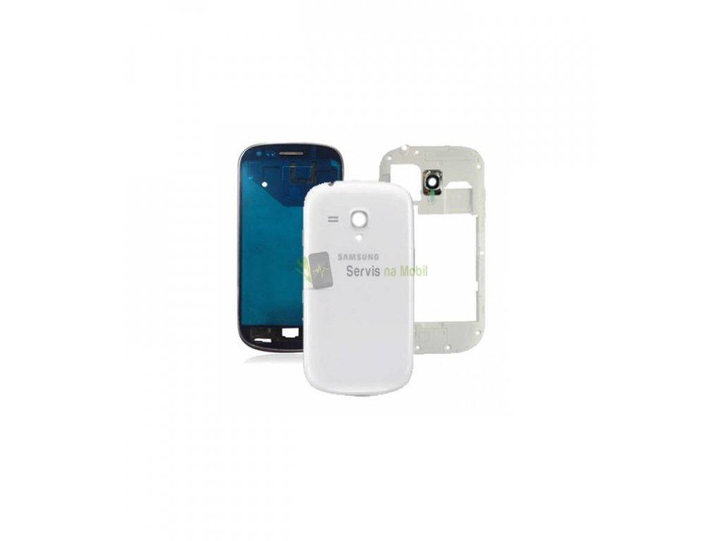 Komplet kryt Samsung Galaxy S3 mini i8190 biela farba