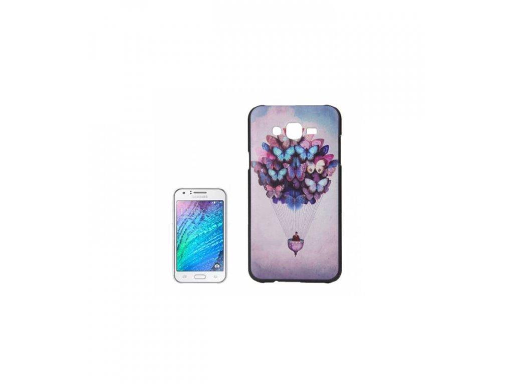 Puzdro Samsung Galaxy J5 s potlačou motív motýle