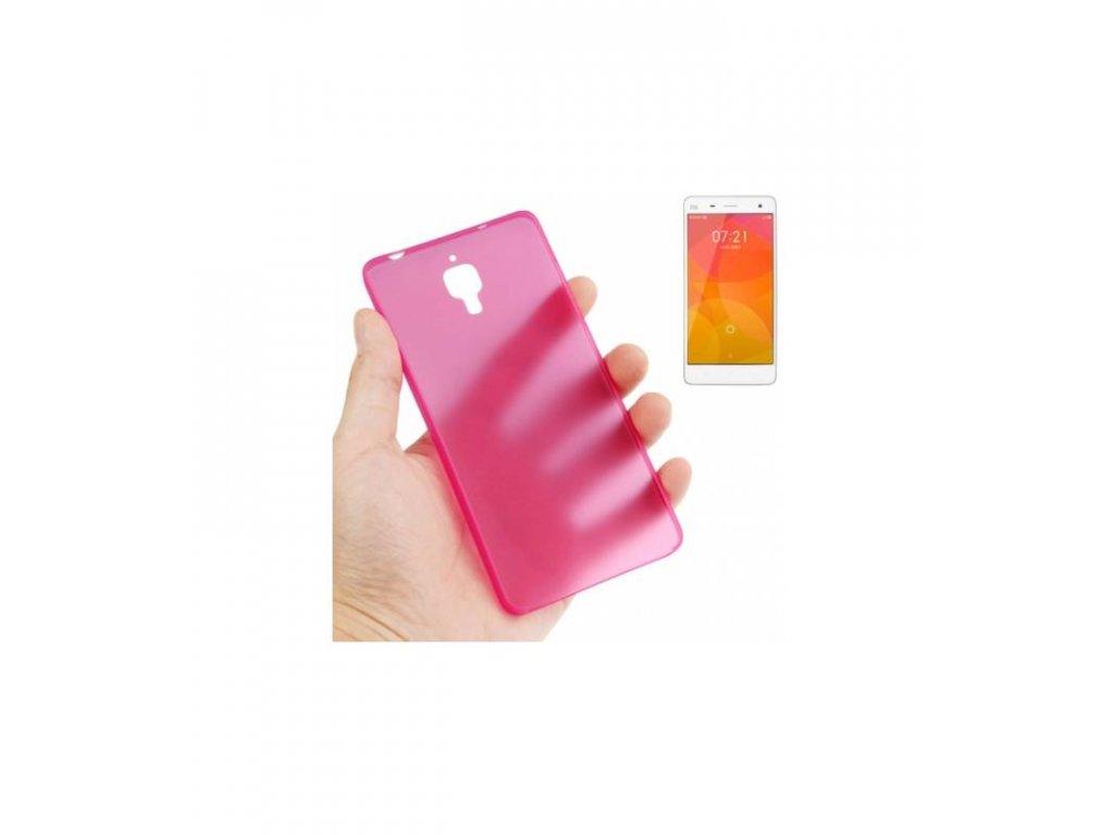 Puzdro Xiaomi MI4 ultra tenké ružové