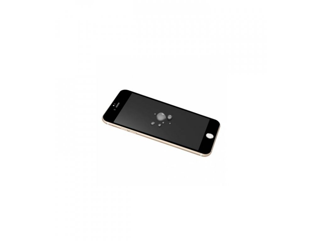 Ochranné tvrdené sklo iPhone 6 / 6s 2.5D s antireflexnou vrstvou čierna farba
